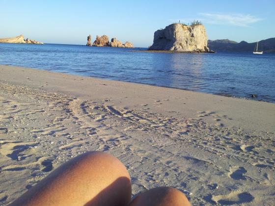 beach knei