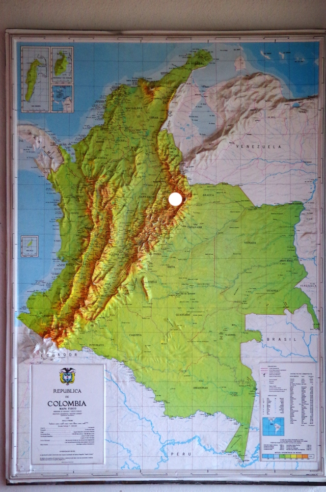 Map Cocuy