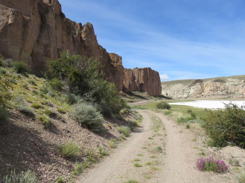 canyon near cueva des manos-003