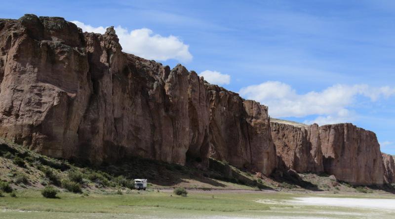 canyon near cueva des manos